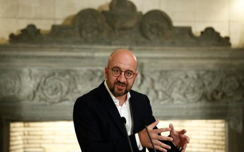 EU Charles Michel calls for immediate return to negotiations