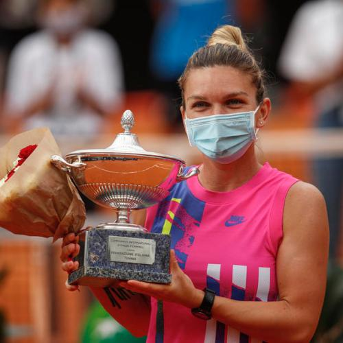Simona Halep wins first Italian Open title