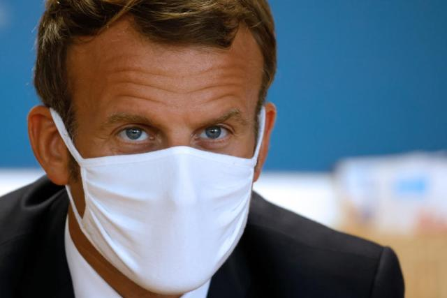 France's Macron announces new nationwide lockdown starting Friday to combat virus outbreak