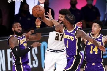 Lakers beat Nuggets to advance to finals
