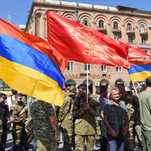 Azerbaijan and Armenia clash over Nagorno-Karabakh region