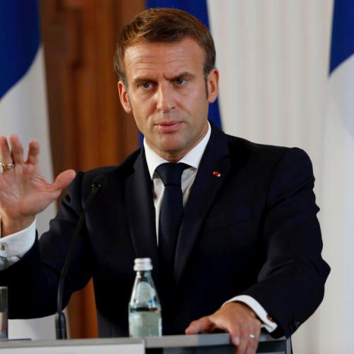 """Macron criticises Turkey's """"warlike"""" rhetoric on Nagorno-Karabakh"""