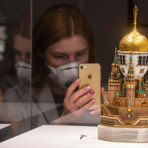 Photo Story: Unique exhibition on Masterpieces of Russian Enamel opens in Moscow