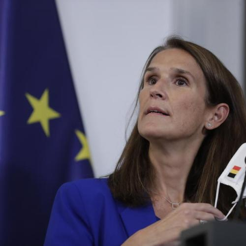 Belgian Foreign Minister Sophie Wilmès in intensive care with Covid-19