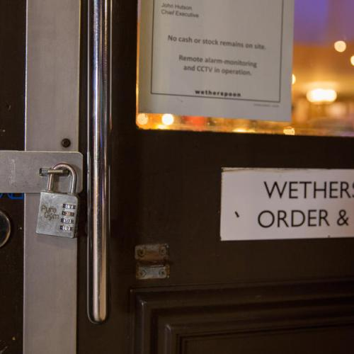 "Wetherspoon calls for ""sensible"" UK rules as pub losses mount"