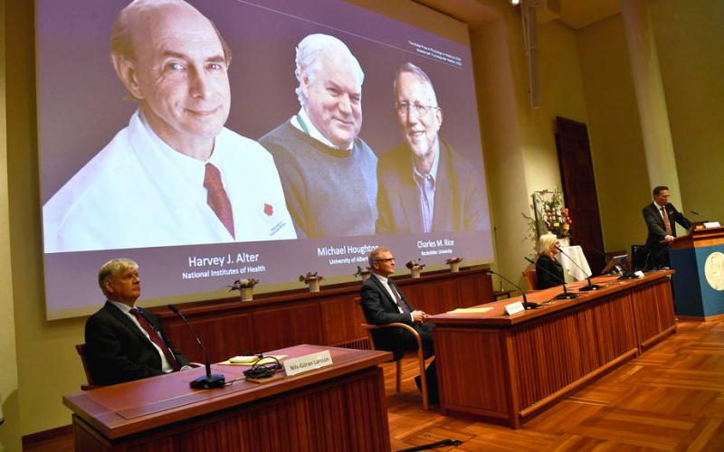 Scientists who helped identify Hepatitis C virus win 2020 Nobel Medicine Prize