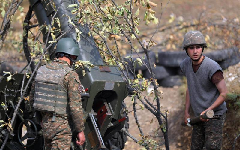 New fighting in Nagorno-Karabakh dims hopes before Washington talks