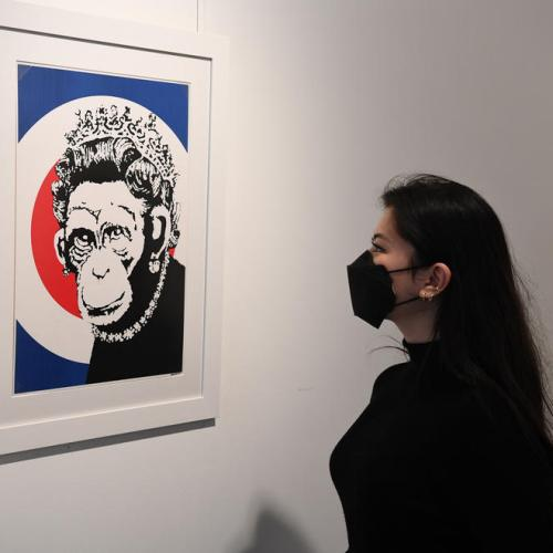 Photo Story: Banksy 'Catch me if you can' exhibition at the HOFA gallery in London