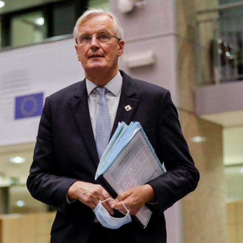 "UPDATED: EU's Barnier says trade deal with UK ""within reach"""