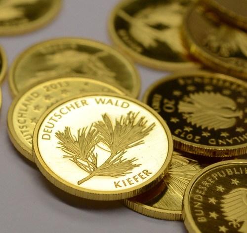 Gold firms as dollar dips, coronavirus concerns grow