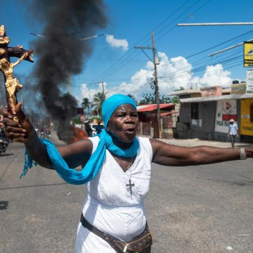 Photo Story: Anti-Government protests in Port-au-Prince