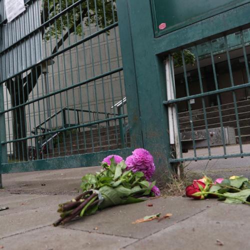 Photo Story: Man attacked near synagogue in Hamburg