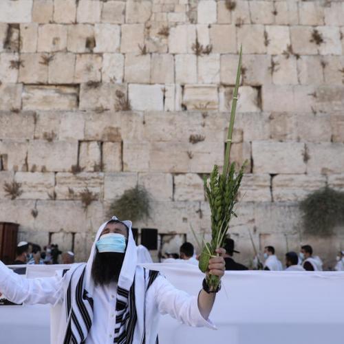 Photo Story: Sukkot holiday during a lockdown in Jerusalem