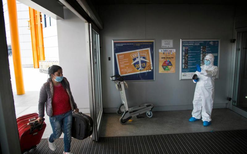 Romania suspends flights from high-risk coronavirus countries