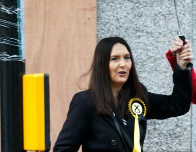 Scottish MP suspended for taking train journey despite knowing she had COVID-19