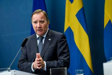 UPDATED: Swedish Left Party to seek support for no-confidence vote in PM Lofven