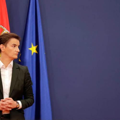 Serbian President renews PM Ana Brnabic mandate