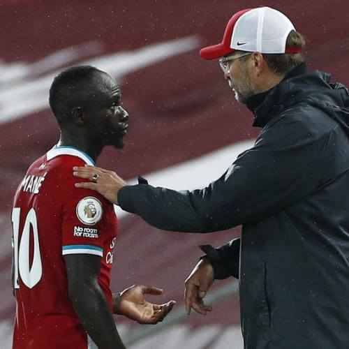 Liverpool's Mane tests positive for Covid-19