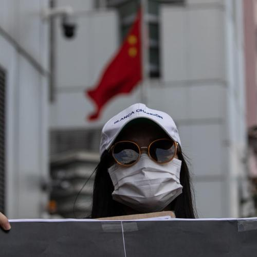 Hundreds rally in Taiwan, call for release of 12 Hong Kong people arrested by China