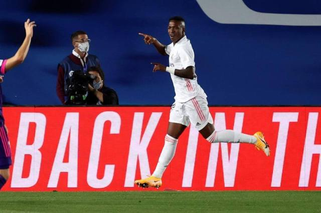 Vinicius instrumental in Real Madrid's victory against Valladolid