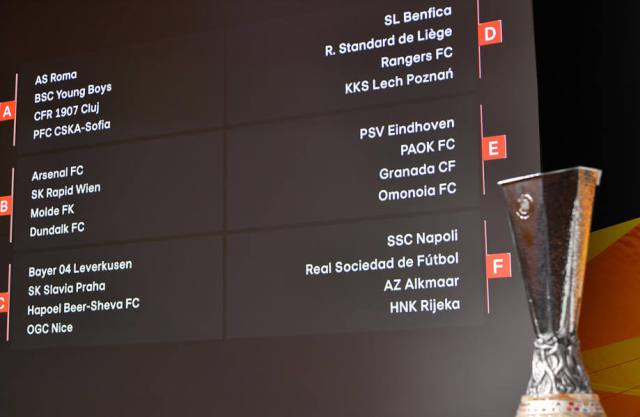 2020 21 uefa europa league group stage draws 2020 21 uefa europa league group stage