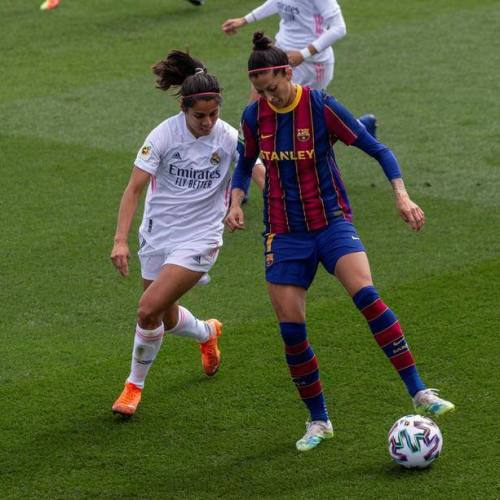 Real Madrid beaten by Barcelona in first women teams' Clasico