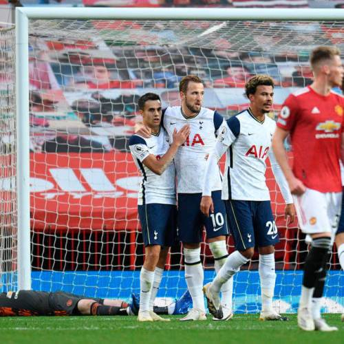 Premier League – Tottenham crush Man United 6 – 1