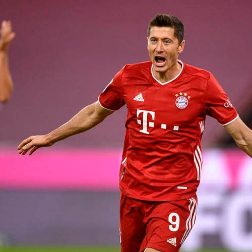 Levandowski scores all 4 goals in Bayern Munich 4-3 win over Hertha Berlin