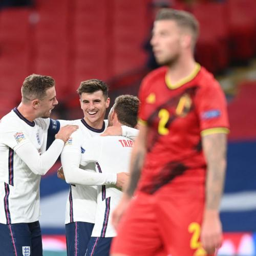 England beats Belgium  2-1 Nations League at Wembley