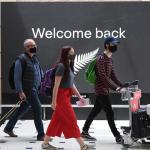 Families reunite as Australia-New Zealand 'travel bubble' begins