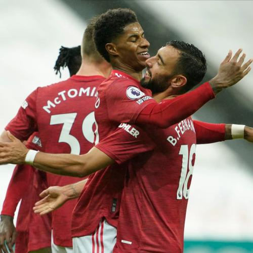 Manchester United leave it till ate in 4-1 win over Newcastle