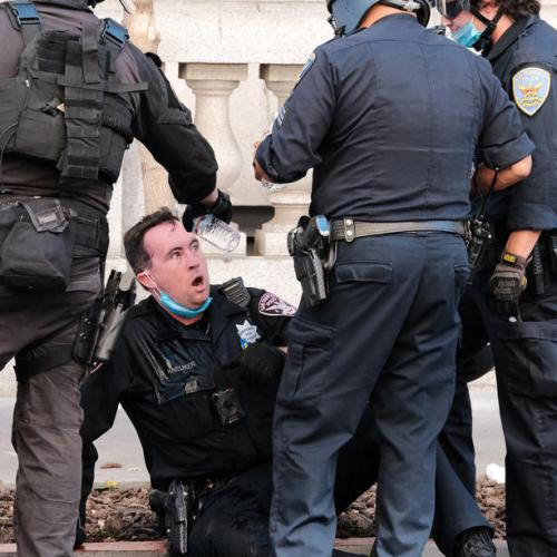 Photo Story: Incidents during free speech rally in San Francisco