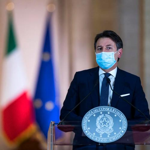 Giuseppe Conte calls for sober Christmas