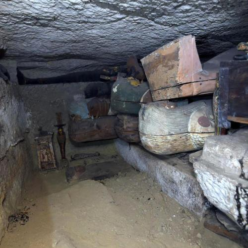 Photo Story: Burial complex in the necropolis of Saqqara  in Egypt uncovered