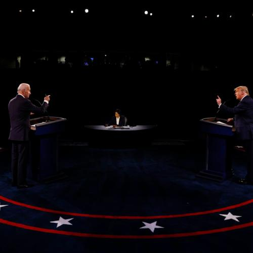 Trump and Biden clash on pandemic, trade personal jabs at final debate