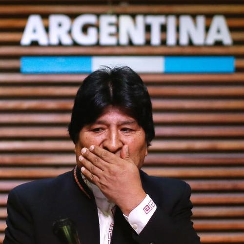 Former Bolivia President Morales left Argentina