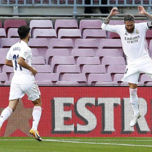 Real Madrid claim first El Clasico of the season