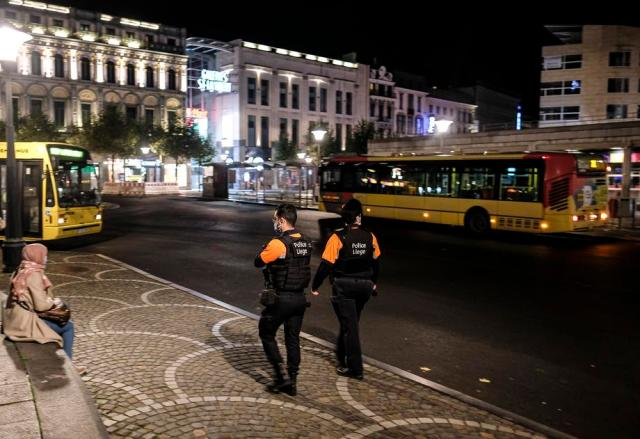 Brussels edges towards lockdown