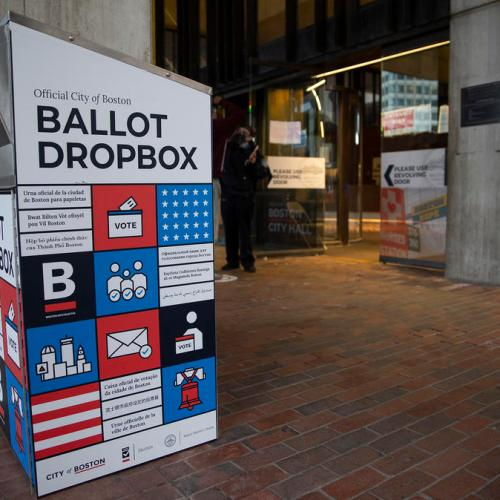 Arrest made in ballot box fire set in Boston