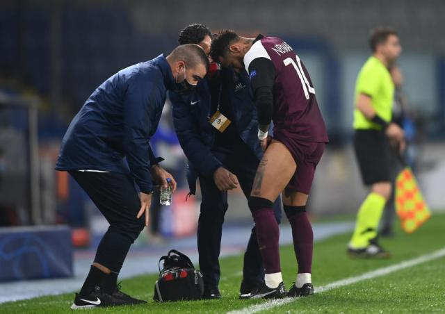 PSG's Neymar out until at least mid-November