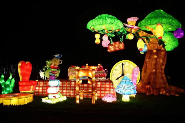 Photo story: Spectacular light show Alice in Wonderland opens in Krakow