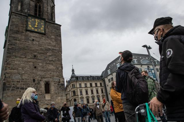 Anniversary of Halle terror attack commemorated in Germany