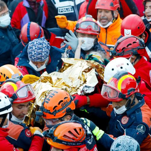 Three-year-old rescued from rubble in Turkey, quake death toll hits 85