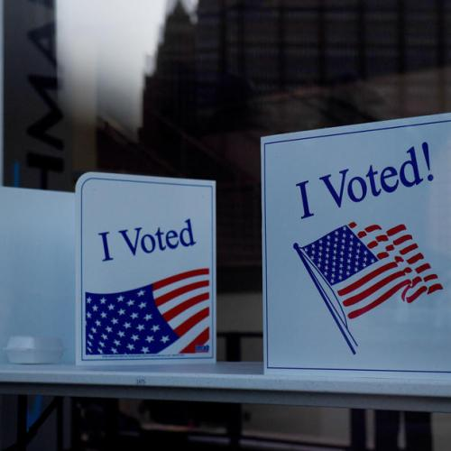 U.S. Election Day unfolded smoothly so far, fierce battles in key states
