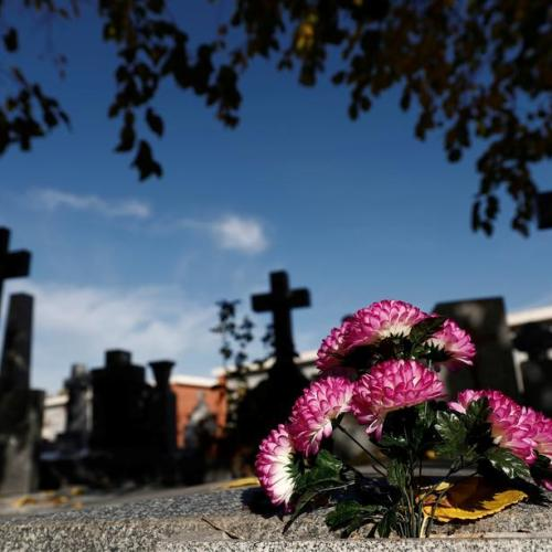 Photo Story: Strict measures for All Saints' Day in Spain