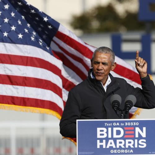 Obama says Trump fraud claims undermining democracy