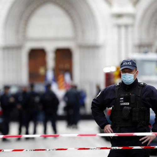 Nice church attack and teacher's beheading are linked