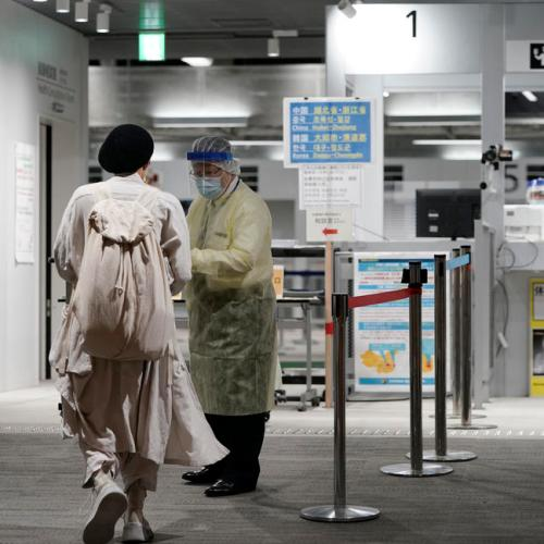 Japan opens airport coronavirus test lab for departing travellers