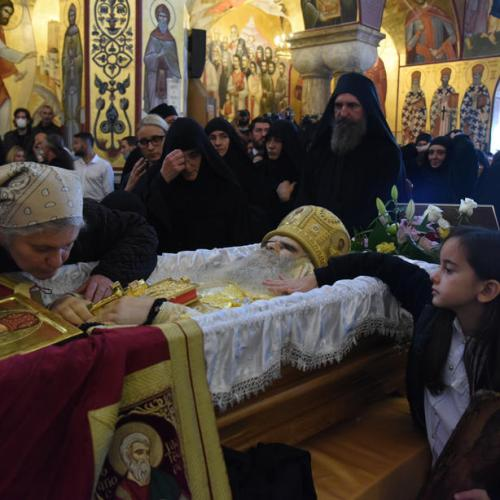 Concern after mourners kiss and touch coronavirus infected bishop at Montenegro funeral
