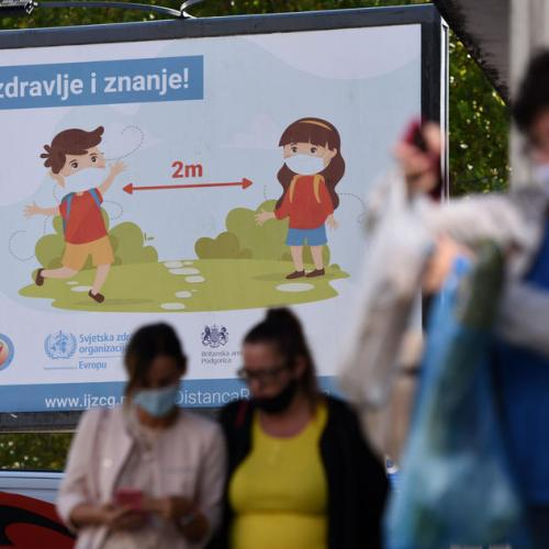 Montenegro introduces curfew, Serbia to issue fines to counter coronavirus